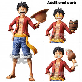 One Piece – Figurine Monkey D Luffy Grandista Nero