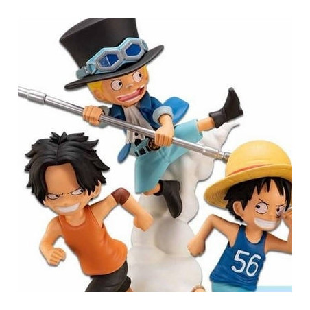One Piece – Diorama Luffy Ace & Sabo Ichibansho The Bonds of Brothers image