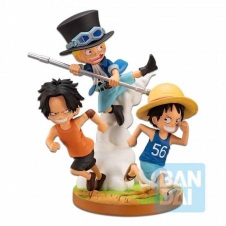 One Piece – Diorama Luffy Ace & Sabo Ichibansho The Bonds of Brothers