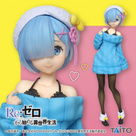 Re Zero Starting Life in Another World - Figurine Rem Precious Figure Knit Dress Ver.