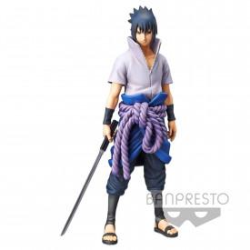 Naruto Shippuden - Figurine Uchiha Sasuke Grandista Nero