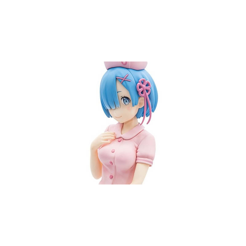Re Zero Starting Life in Another World - Figurine Rem Nurse Pink Ver. PM Figure