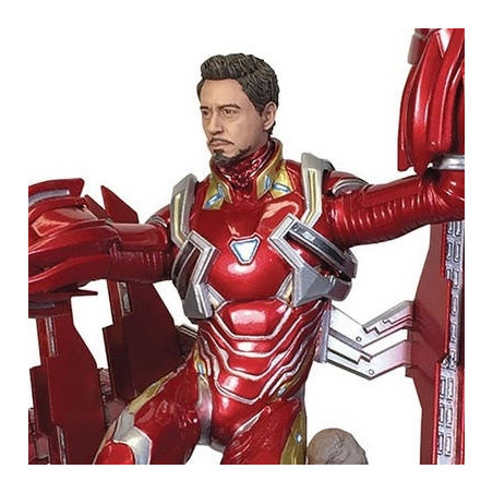 Avengers Infinity Wars - Figurine Iron Man MK50 Unmasked Marvel Gallery image