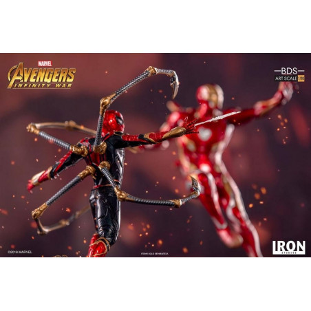 Avengers Infinity War - Figurine Iron Spider-Man BDS Art Scale 1/10