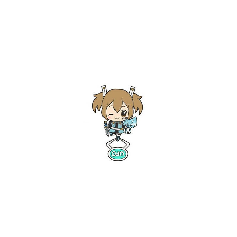 Sword Art Online Ordinal Scale – Strap Silica & Pina UFO Acrylic Keychain Mascot Vol.4