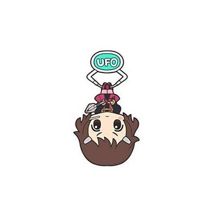 Sword Art Online Ordinal Scale – Strap Lisbeth UFO Acrylic Keychain Mascot Vol.4 image