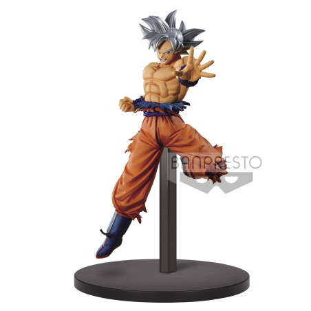 Dragon Ball Super - Figurine Son Goku Ultra Instinct Chosenshi Retsuden II Vol.1