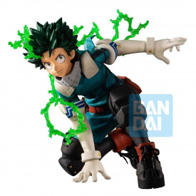 My Hero Academia - Figurine Midoriya Izuku Ichibansho Next Generations Feat. Smash Rising