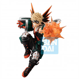 My Hero Academia – Figurine Katsuki Bakugo Ichibansho Next Generations Feat. Smash Rising