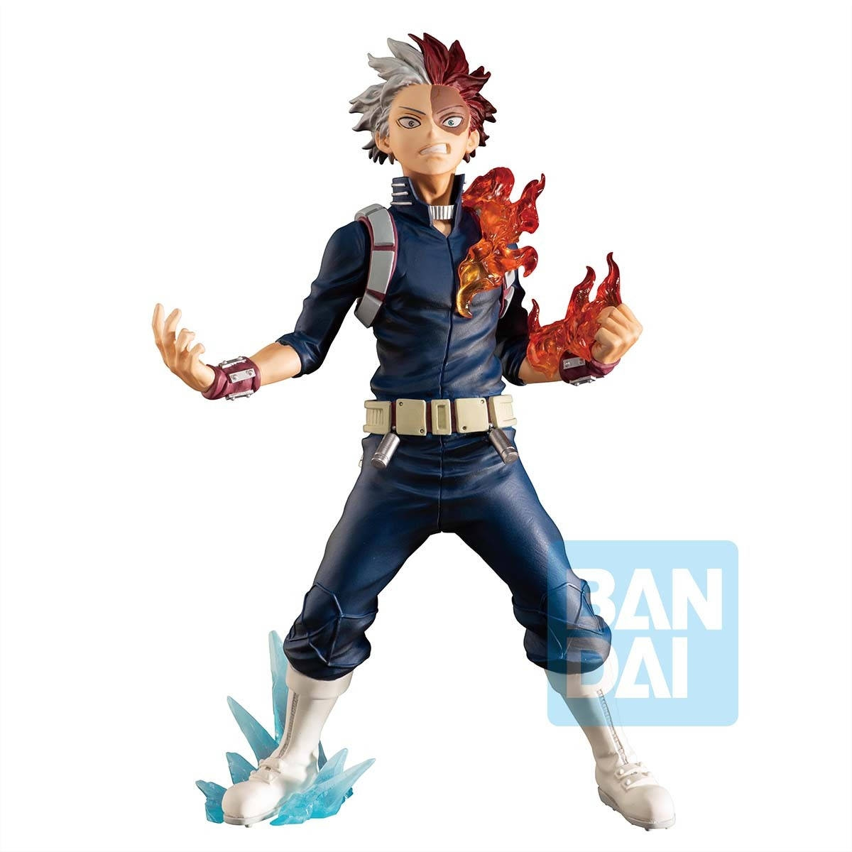 My Hero Academia - Figurine Shoto Todoroki Ichibansho Next Generations Feat. Smash Rising