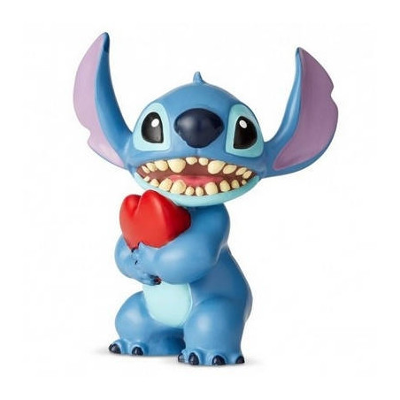 Disney Characters - Figurine Stitch Coeur Disney Showcase Collection image