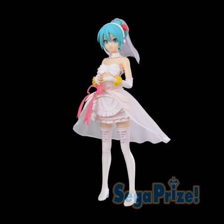 Vocaloid - Figurine Hatsune Miku SPM Figure White Dress Ver