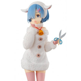 Re Zero Starting Life in Another World - Figurine Rem Wolf and Seven Little Goats Super Special Series