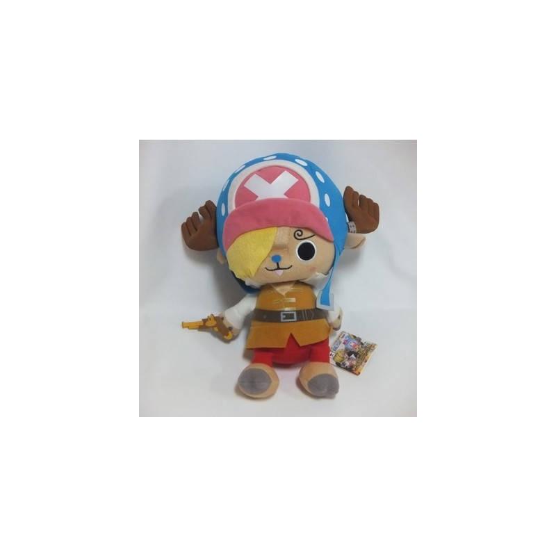 One Piece - Peluche Tony Tony Chopper Super DX Movie Z Sanji