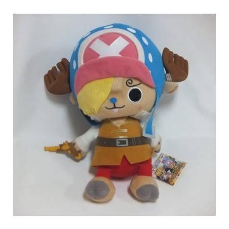 One Piece - Peluche Tony Tony Chopper Super DX Movie Z Sanji image