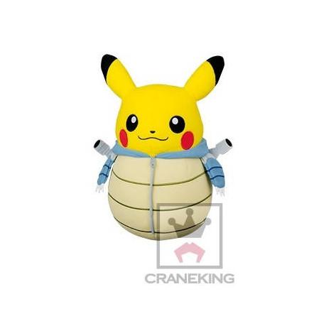 Pokémon - Peluche Pikachu Tortank Costume image
