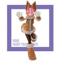 Re Zero Starting Life in Another World - Figurine Ram Wolf and Seven Little Goats Super Special Series