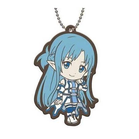 Sword Art Online - Strap Asuna Fairy Dance Capsule Rubber Mascot 01 image