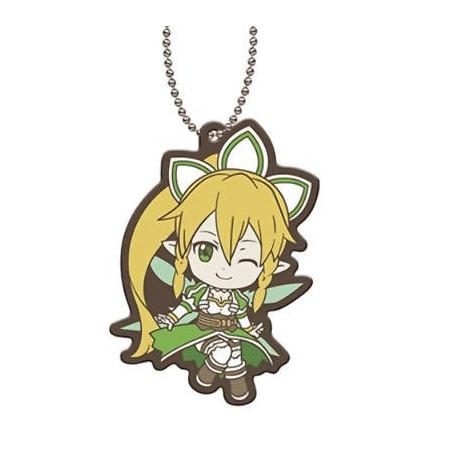 Sword Art Online - Strap Leafa Capsule Rubber Mascot 01 image
