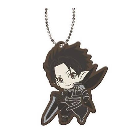 Sword Art Online - Strap Kirito Fairy Dance Capsule Rubber Mascot 01 image
