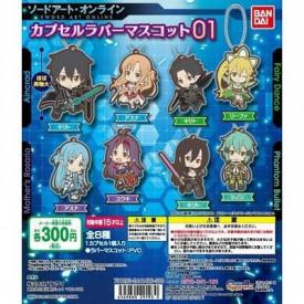 Sword Art Online - Strap Kirito Fairy Dance Capsule Rubber Mascot 01