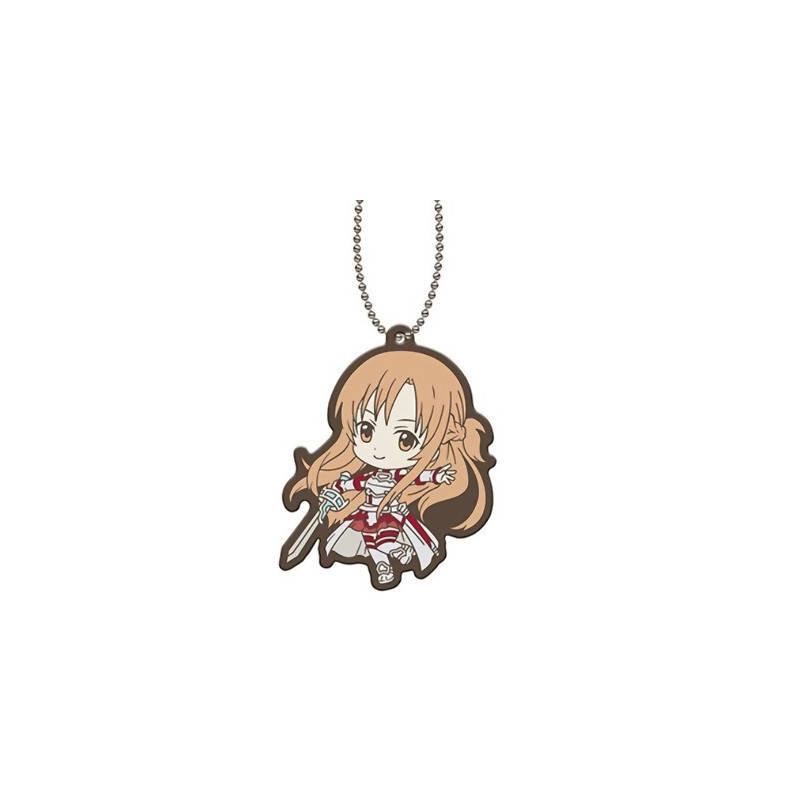 Sword Art Online - Strap Asuna Capsule Rubber Mascot 01