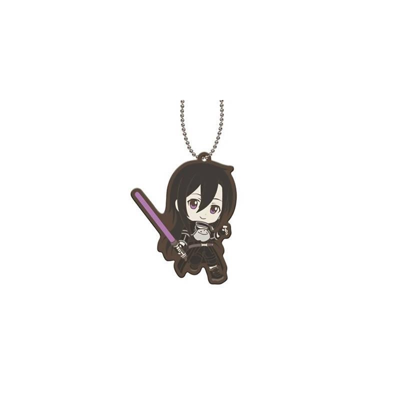 Sword Art Online - Strap Kirito Phantom Bullet Capsule Rubber Mascot 01