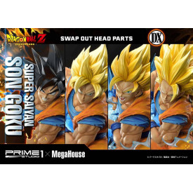 Dragon Ball Z - Statue Son Goku SSJ Deluxe Version
