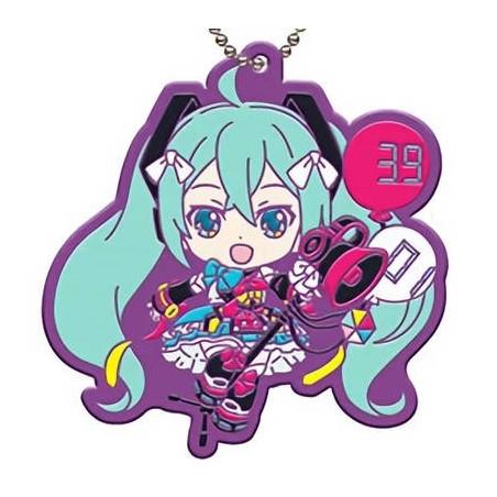 Vocaloid - Strap Hatsune Miku Rubber Keychain ~Magical Mirai 2018~ image
