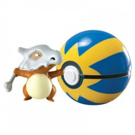 Pokémon - Figurine Osselait Clip'n'Carry Pokéball