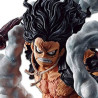 One Piece - Figurine Monkey D Luffy Gear 4 Snakeman Ichibansho Battle Memories