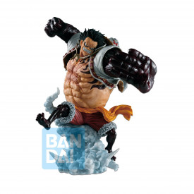 One Piece – Figurine Monkey D Luffy Gear 4 Boudman Ichibansho Battle Memories