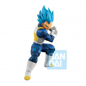 Dragon Ball Super - Figurine Vegeta SSGSS Evolved Ichibansho Ultimata Variation