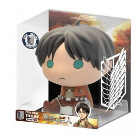 Attack On Titan - Tirelire Eren Yeager Chibi Bank Ver.