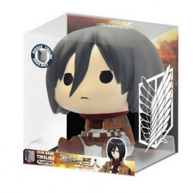 Attack On Titan - Tirelire Mikasa Ackerman Chibi Bank Ver.