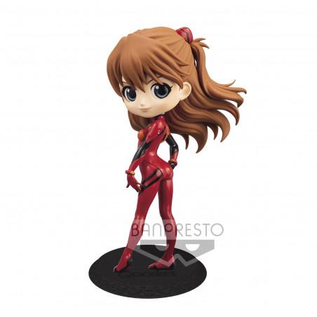 Evangelion Movie - Figurine Asuka Shikinami Langley Plugsuit Q Posket Ver.A