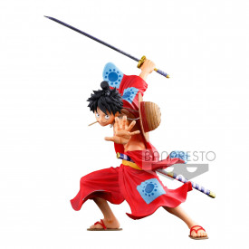 One Piece - Figurine Monkey D Luffy BFWC III Super Master Stars Piece