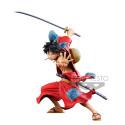 One Piece - Figurine Monkey D Luffy BFWC III Super Master Stars Piece Manga Dimensions