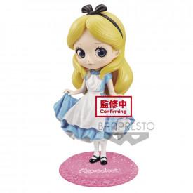 Disney Characters - Figurine Alice Q Posket Glitter Line