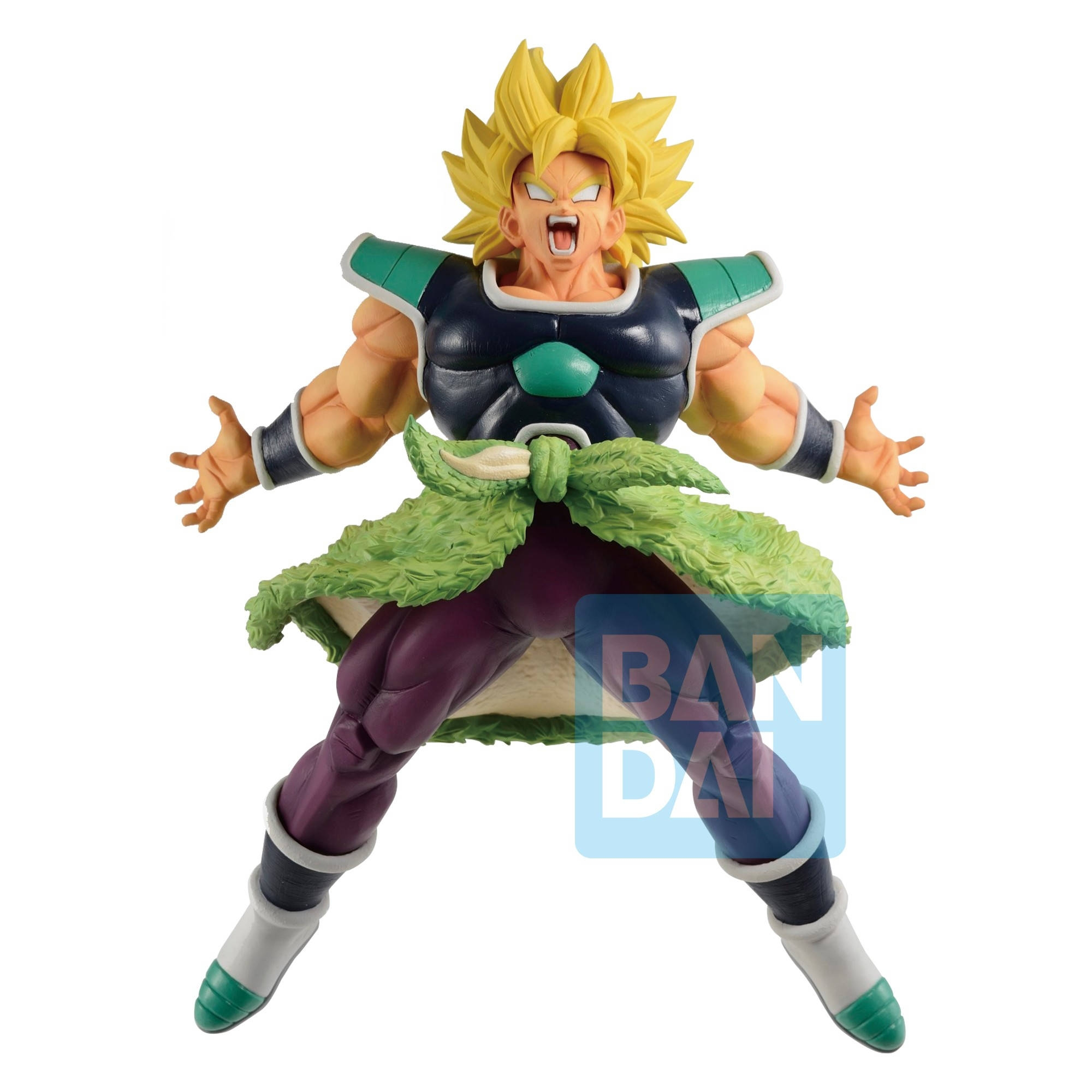 Dragon Ball - Figurine Broly SSJ Ichibansho Rising Fighters