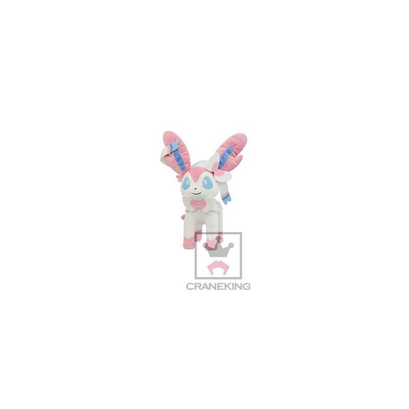 Pokémon - Peluche Nymphali I Love Evoli Collection