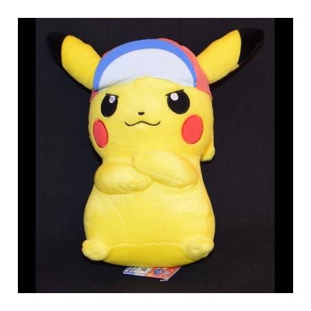 Pokémon - Peluche Pikachu Casquette Sacha Ver. image