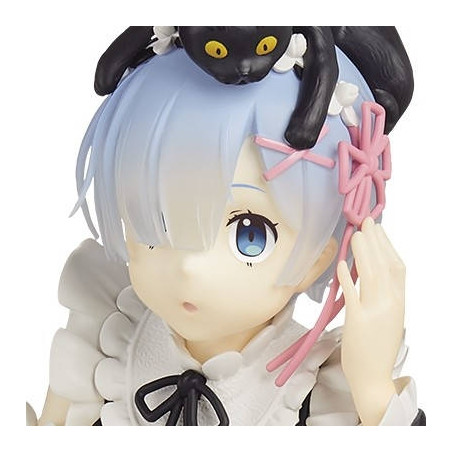 Re Zero Starting Life in Another World - Figurine Rem Espresto Choosing A Texture Suitable image