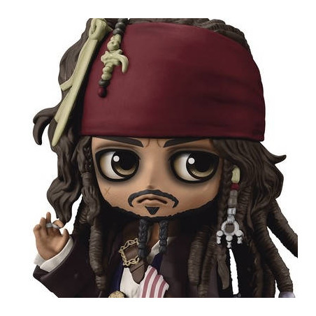 Pirates Des Caraïbes - Figurine Jack Sparrow Q Posket Ver.A image
