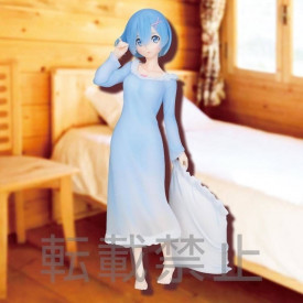 Re Zero Starting Life in Another World - Figurine Rem SPM Figure Night☆Wear Ver.