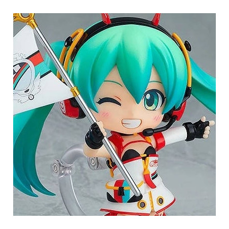 Vocaloid - Figurine Hatsune Miku Nendoroid Racing Miku 2020 Ver. image
