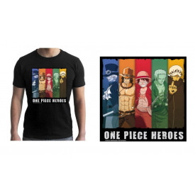 One Piece - T-Shirt One Piece Heroes