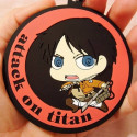 Attack On Titan - Strap Eren Yeager Rubber Keychain