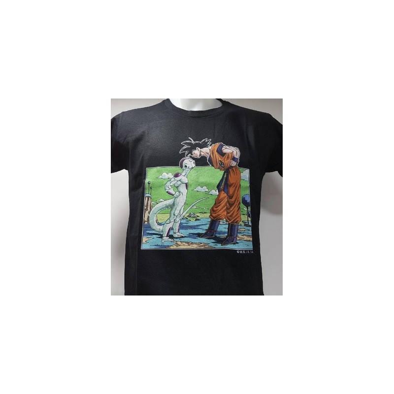 Dragon Ball Z – T-Shirt Freezer VS Son Goku