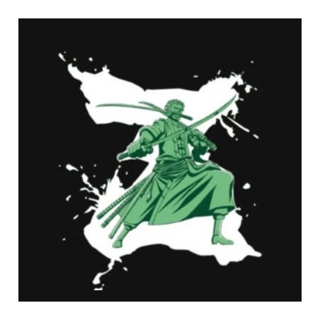 One Piece - Tee-Shirt Roronoa Zoro Grey image
